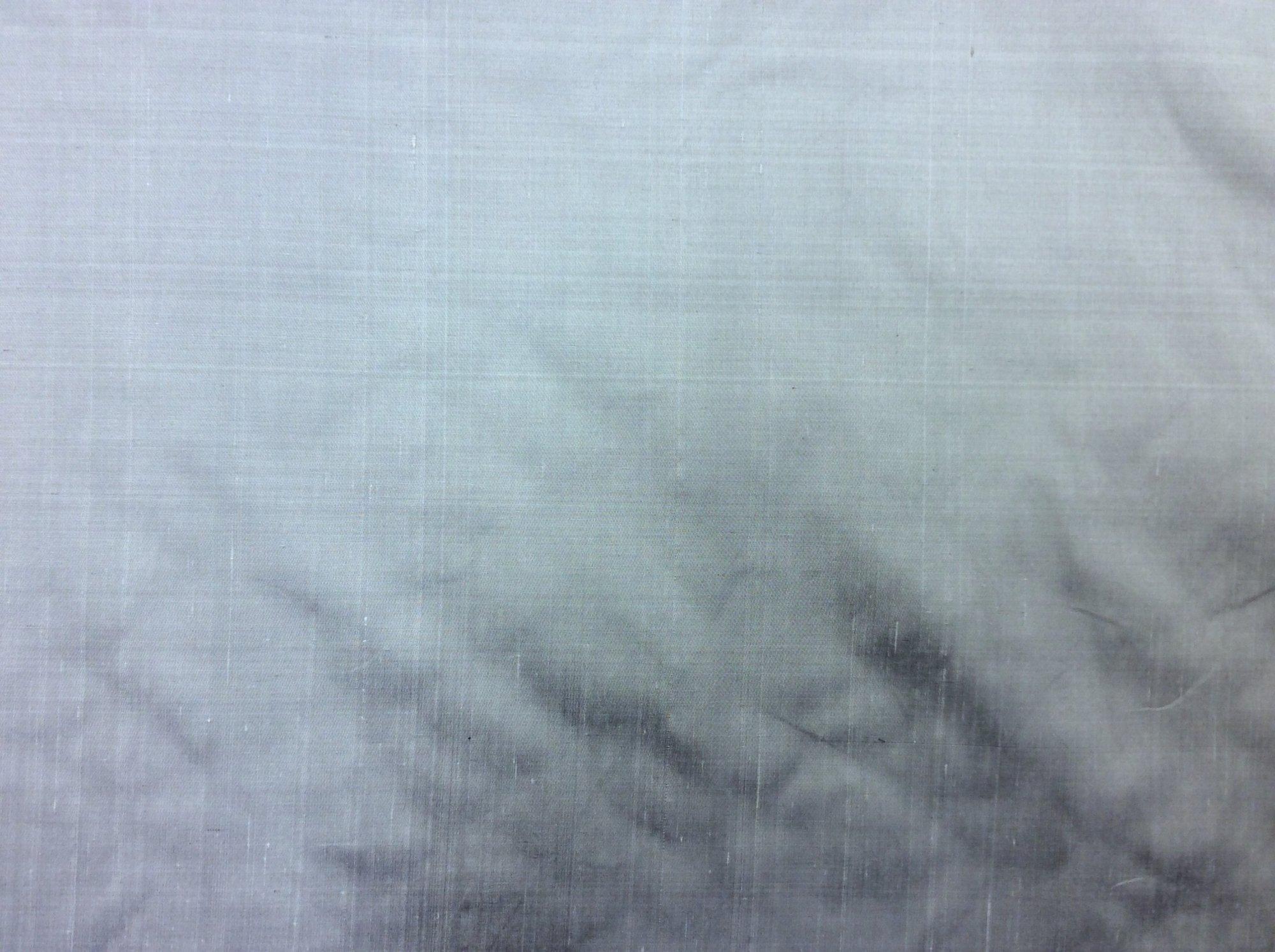 100% Dupioni Silk Silver Lavender Color Drapery Silk Costume Apparel Sewing Fabric SMW98