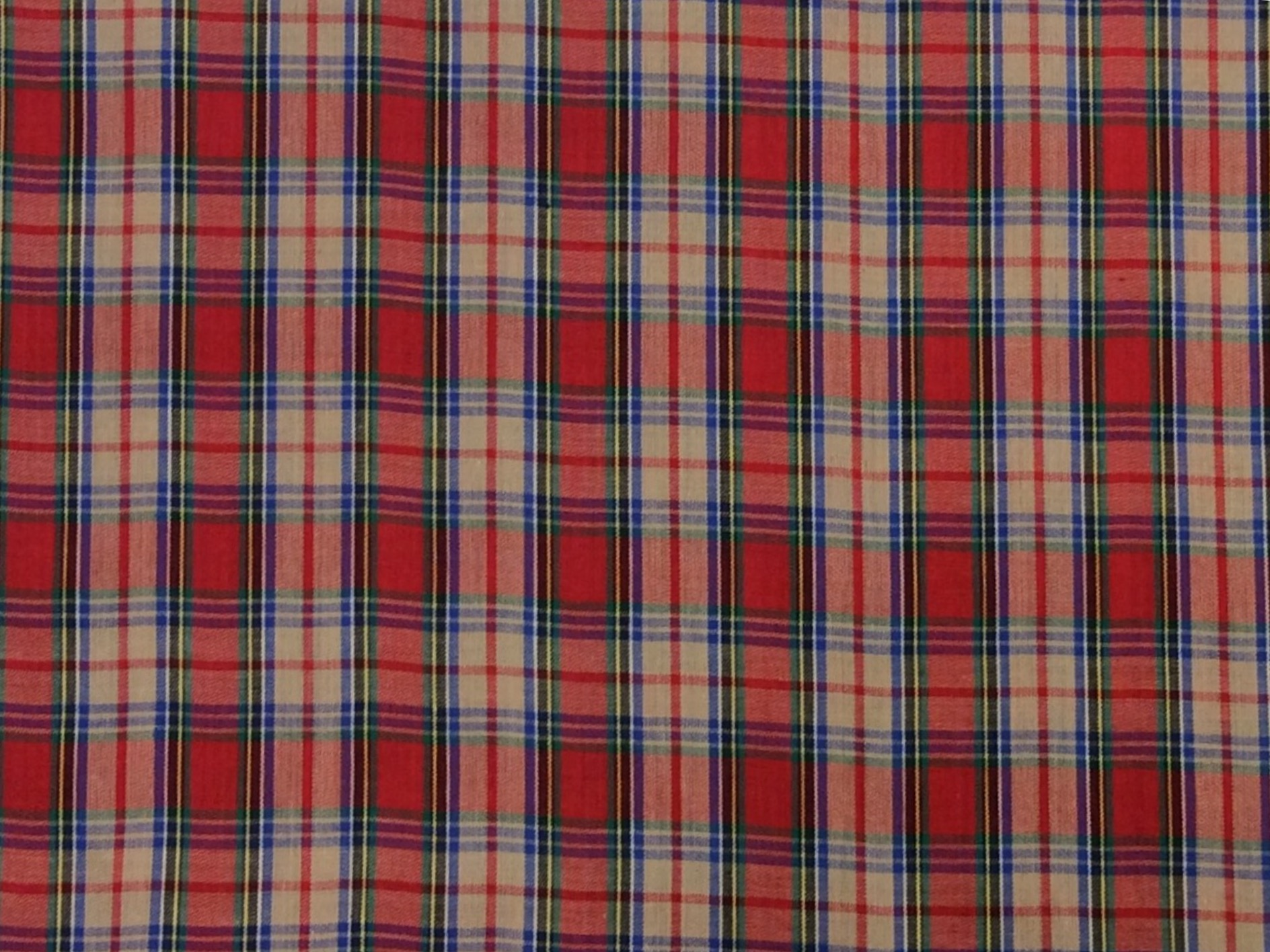 Tartan Plaid Mac Andrew MacAndrew Clan Apparel Fabric Yarn Dyed Fabric FTP19