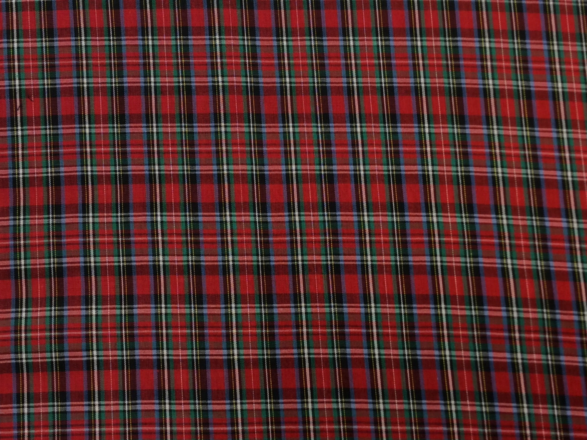 Tartan Plaid Dunbar Clan Apparel Fabric Yarn Dyed Fabric FTP16