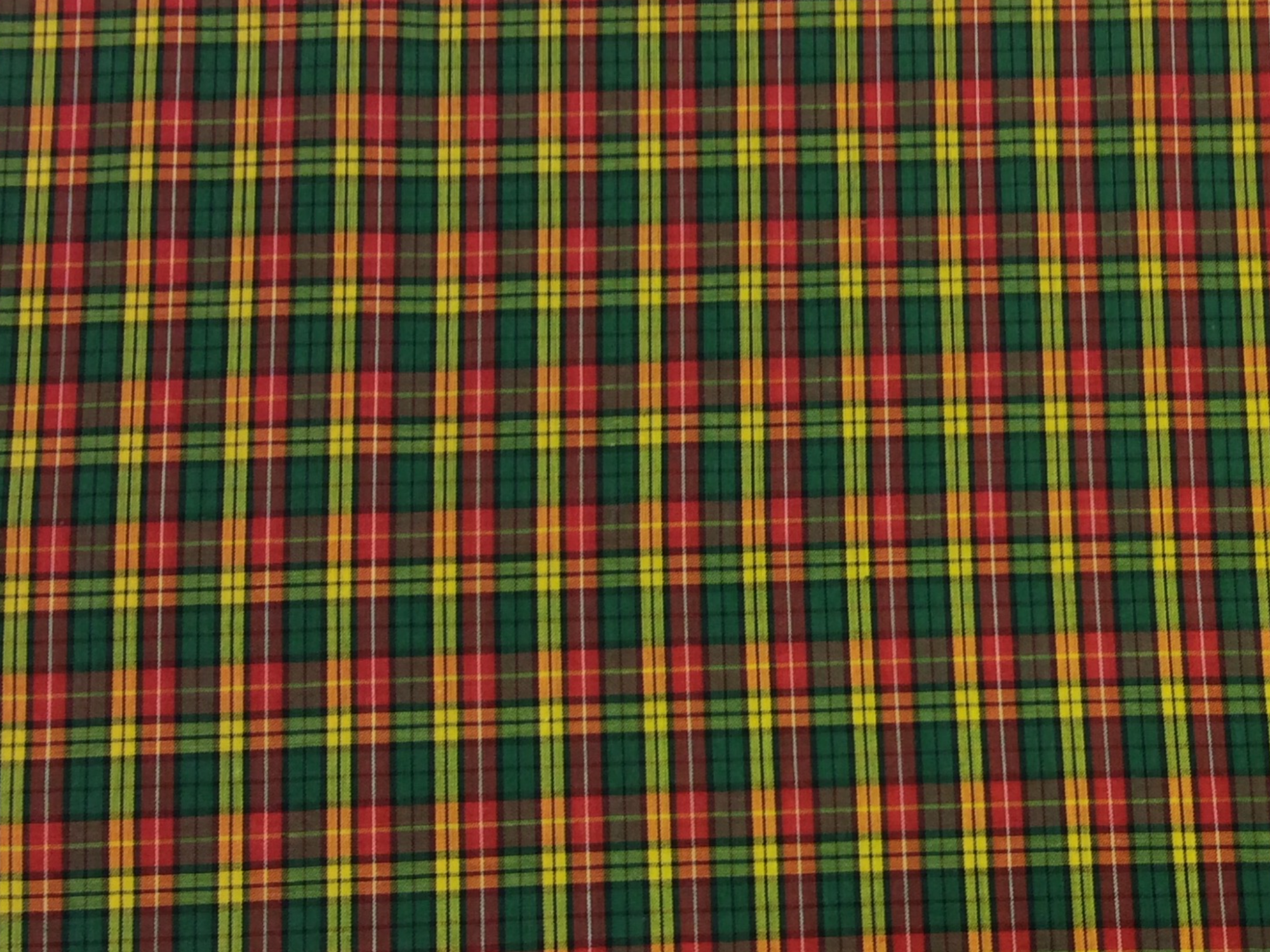 Tartan Plaid Fletcher Clan Apparel Fabric Yarn Dyed Fabric FTP17
