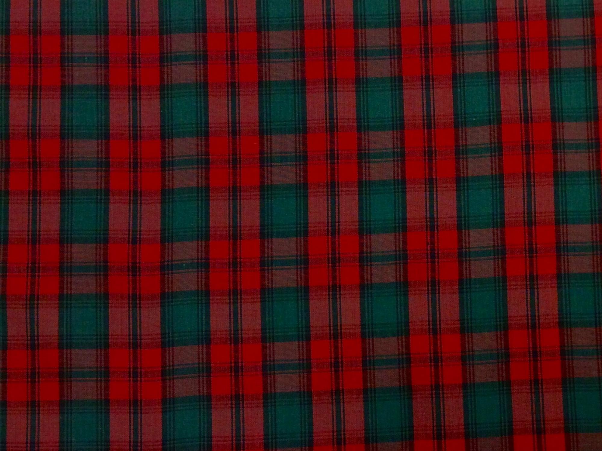 Tartan Plaid Brodie Clan Apparel Fabric Yarn Dyed Fabric FTP04