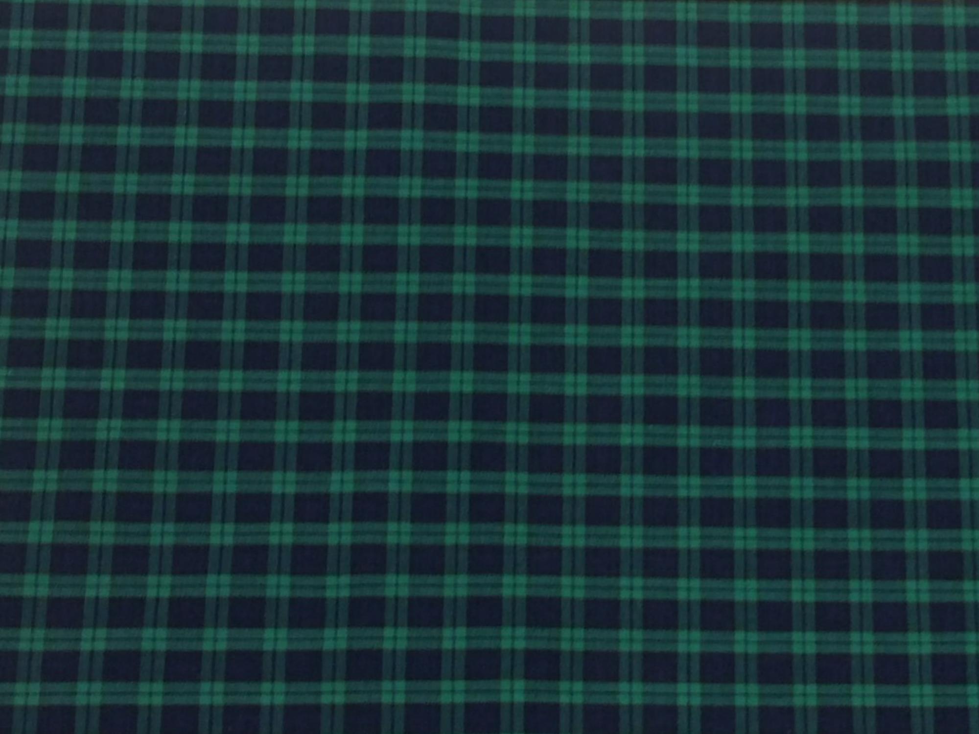 Tartan Plaid Black Watch Clan Apparel Fabric Yarn Dyed Fabric FTP07