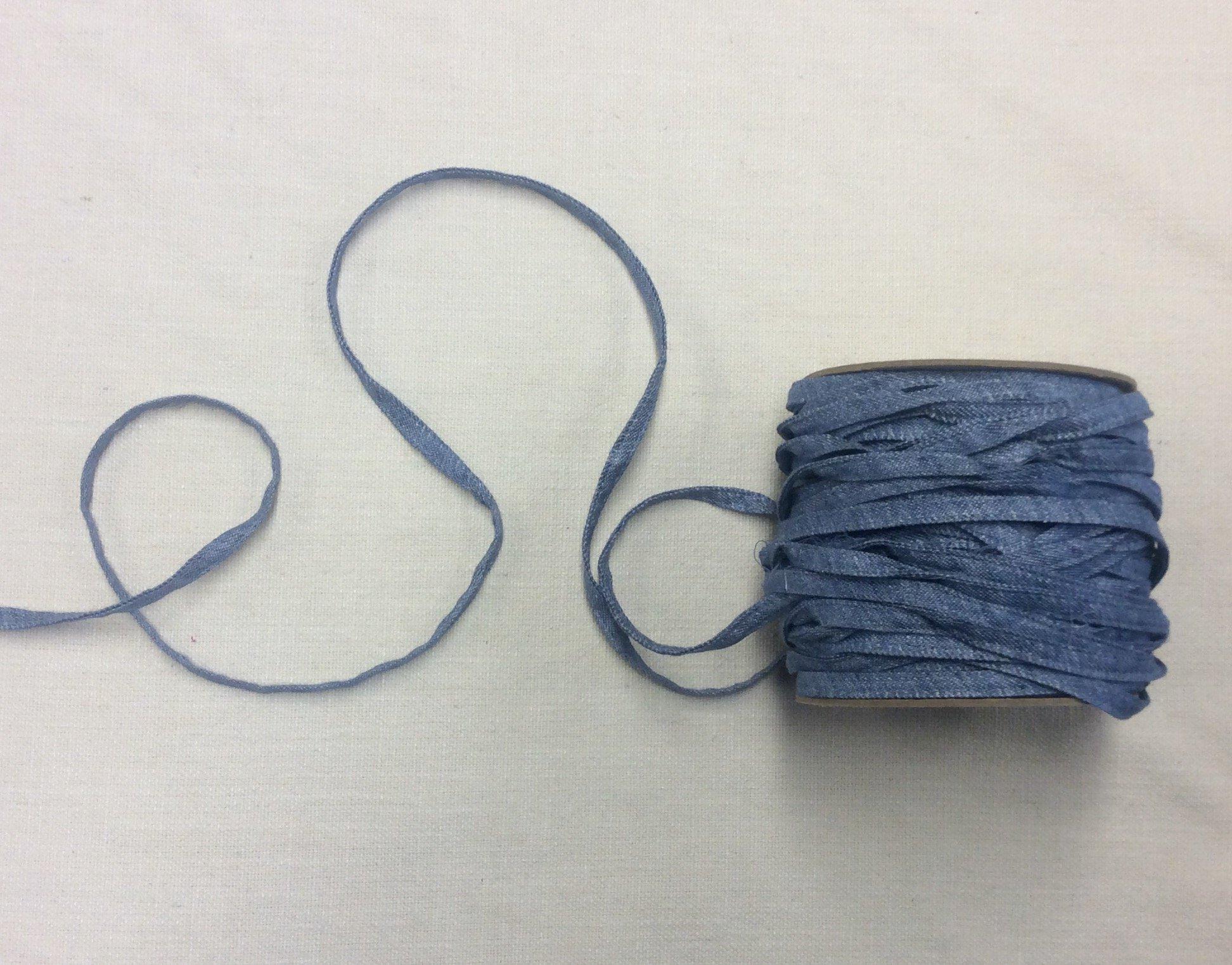 Cotton Denim Belt Loop Trim Ribbon Apparel Trim FM33757