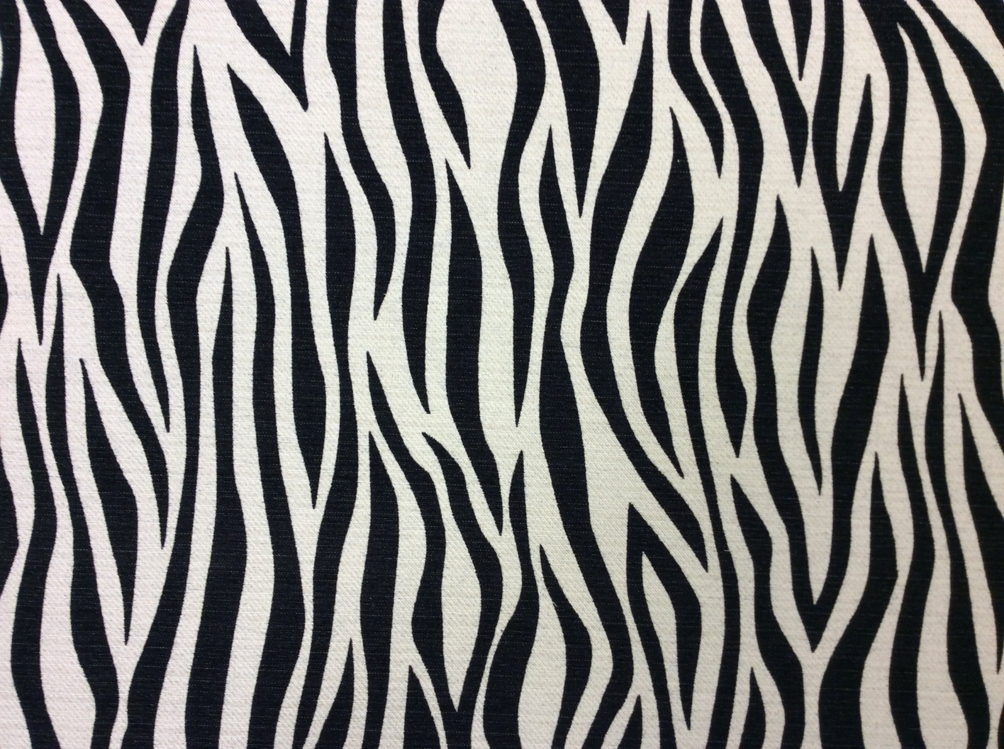 Heavy Upholstery Woven Zebra Wild Jungle Upholstery Fabric KNG1824