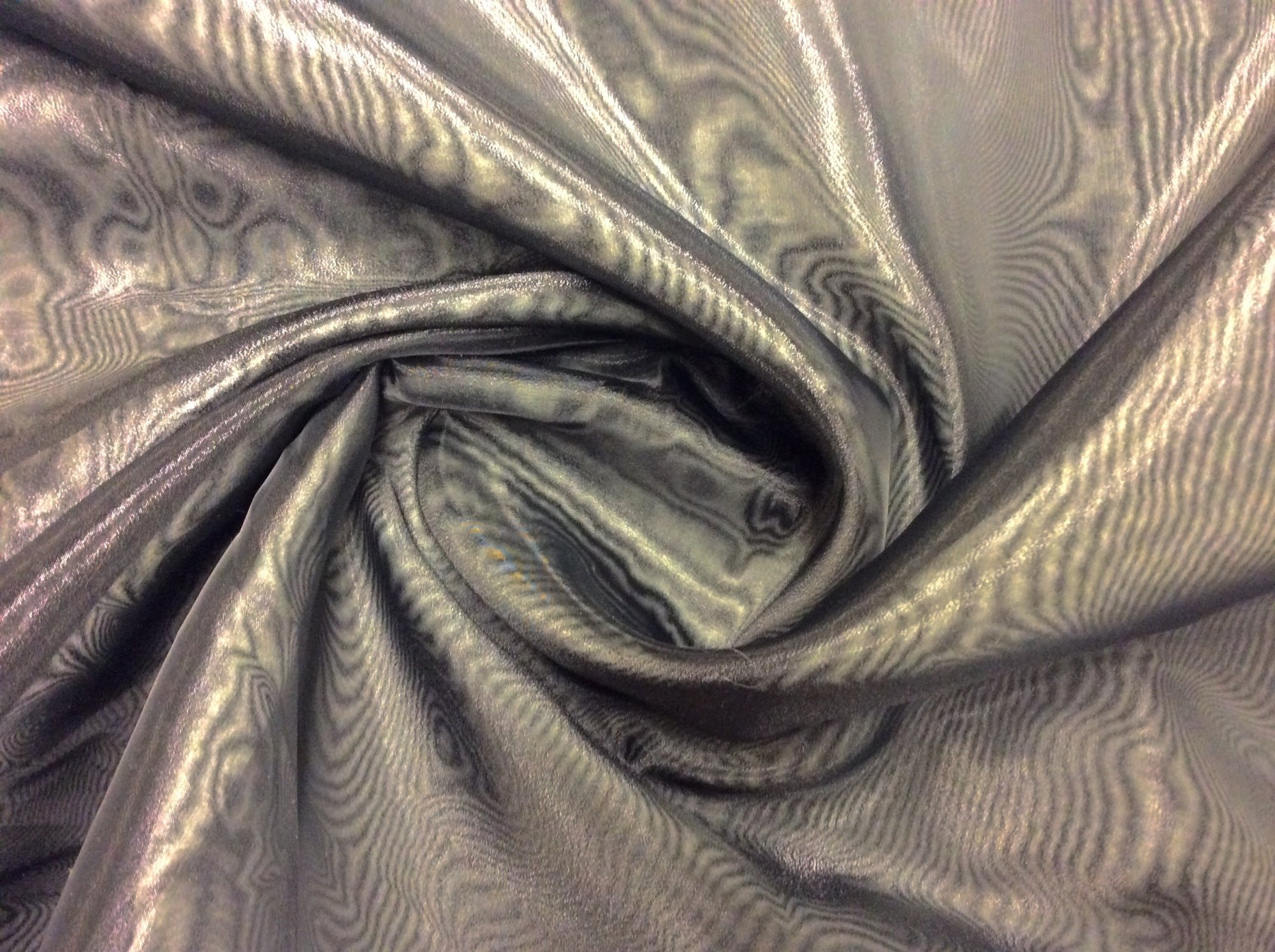 Black Polyester Organza Extra Wide Window Sheer Apparel Fabric ETX099
