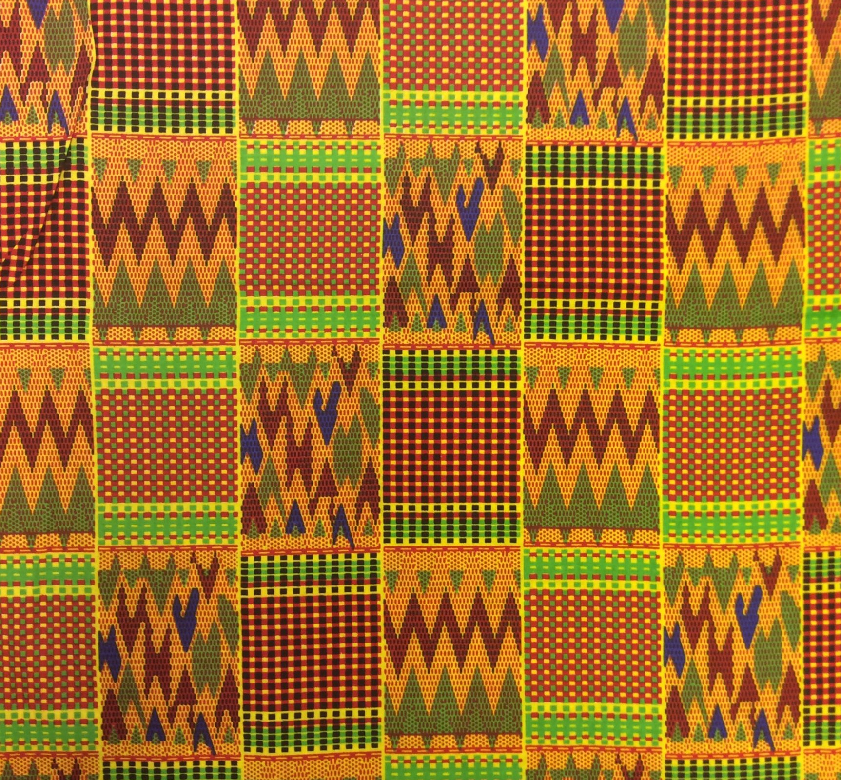 African Wax Print Cloth Cotton Fabric WP008