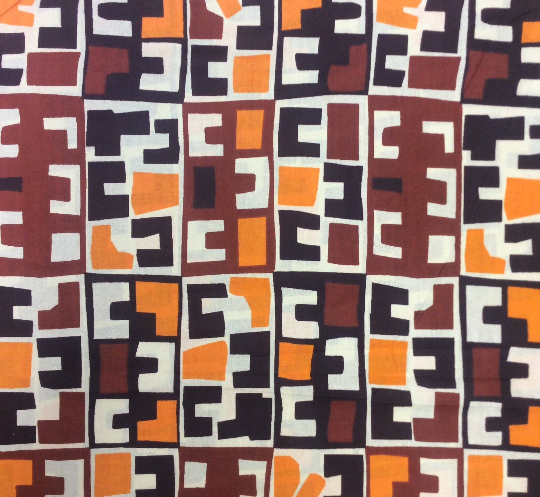 African Wax Print Cloth Cotton Fabric WP007