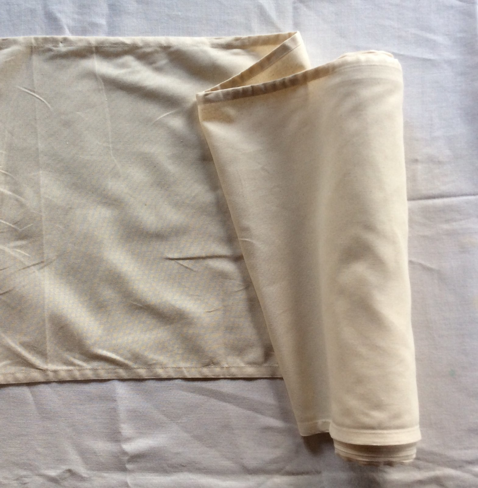 Natural Tan Toweling by the Yard Cotton Fabric MOT41