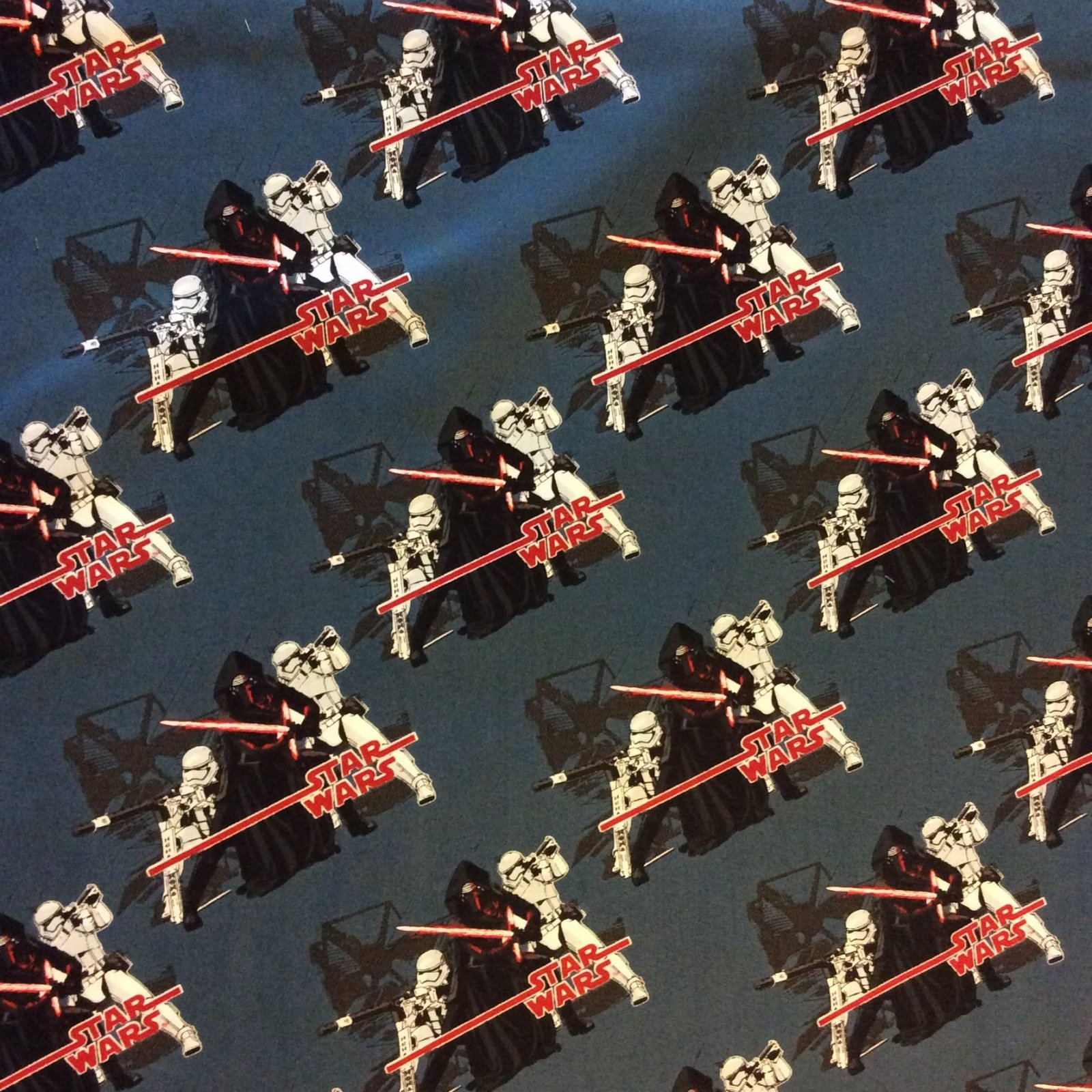 Star Wars The Force Awakens X-wing Empire Clone Rebels Lucas Films Movie Cotton Quilt Fabric FT84