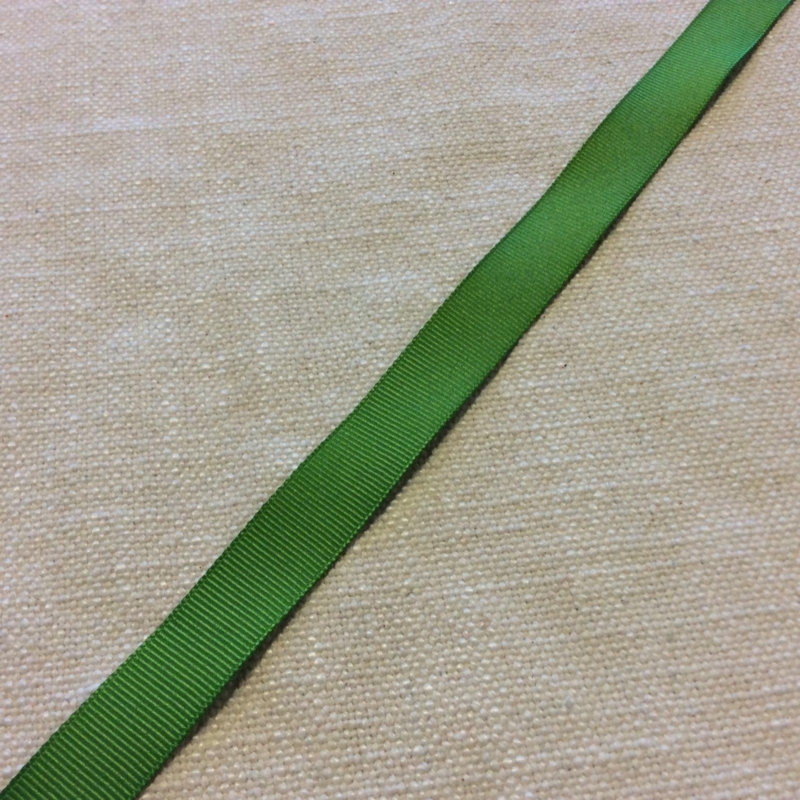 Grosgrain Ribbon Kiwi Green 5/8 Trim Ribbon RIB1114