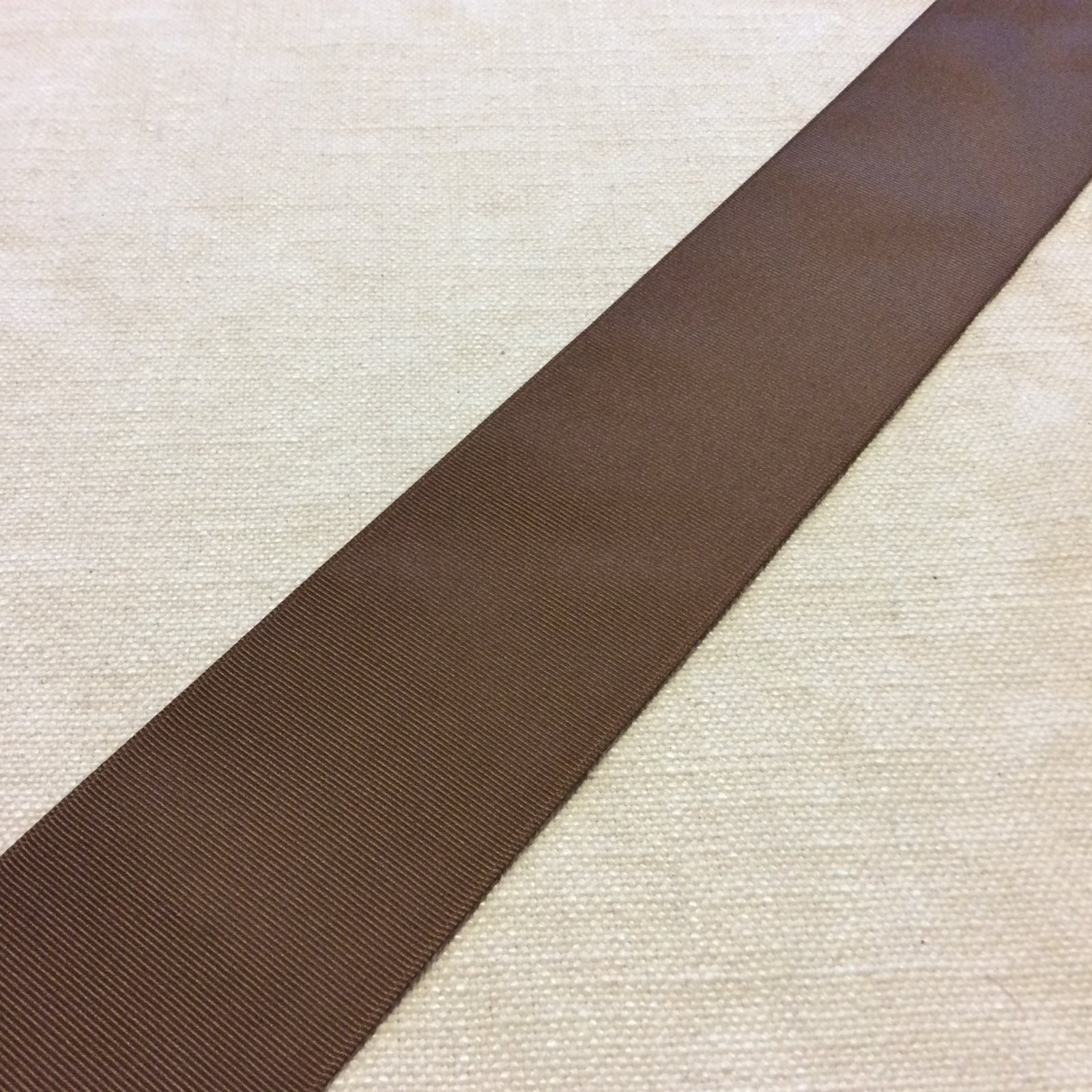 Grosgrain Ribbon 2.5 Brown Trim Ribbon RIB1137