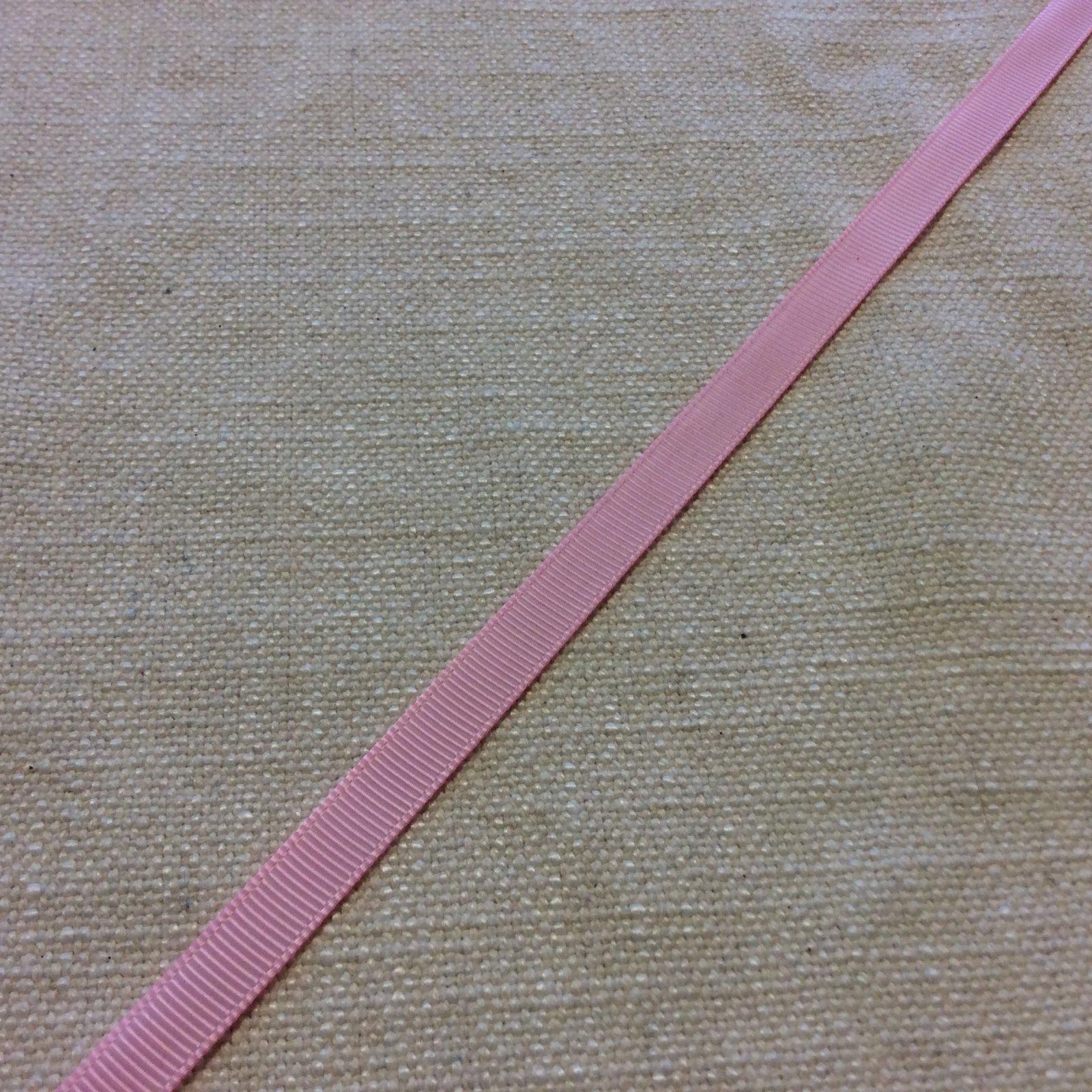Grosgrain Ribbon 3/8 Pink Trim Ribbon RIB1148