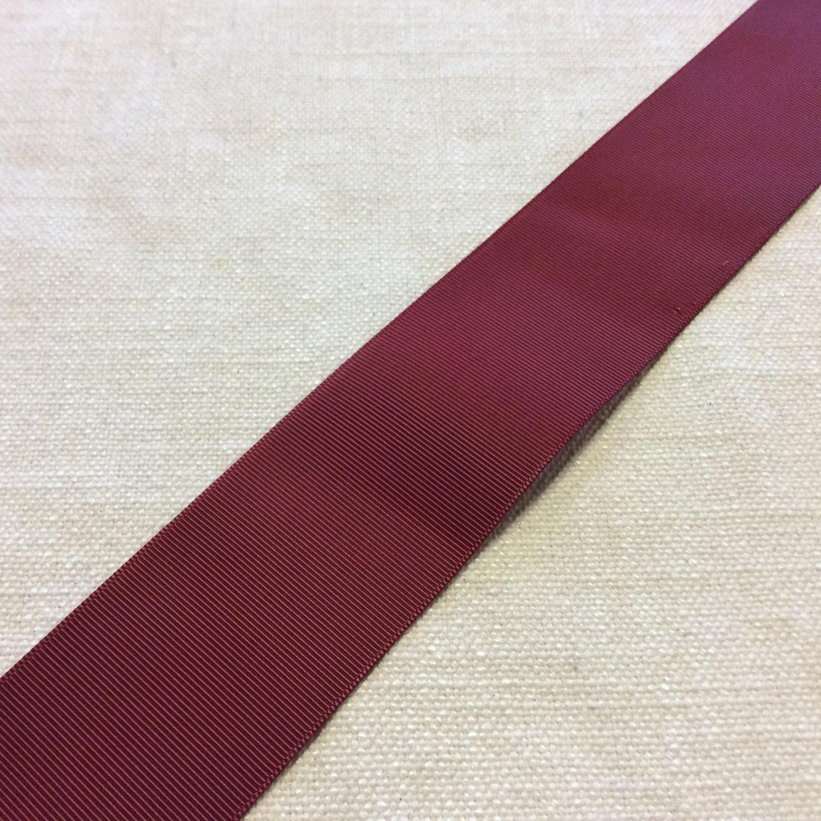 Grosgrain Ribbon 2 Red Trim Ribbon RIB1152