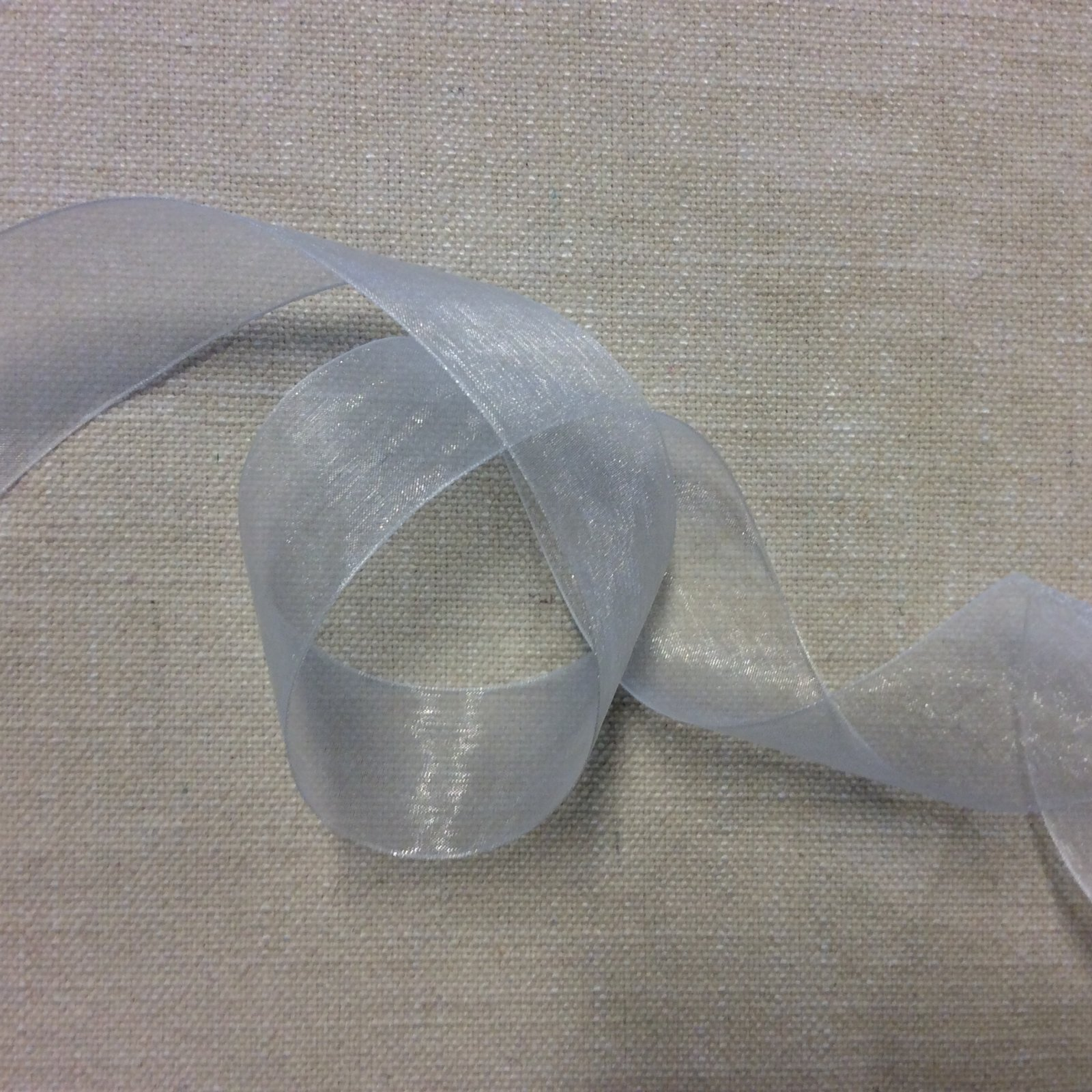 Organza Ribbon 1.5 Ivory Trim Ribbon RIB1182