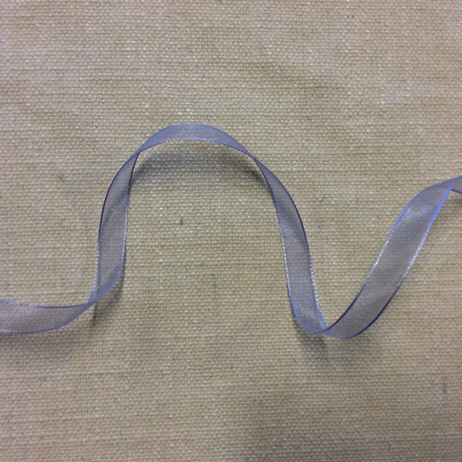 Organza Ribbon 3/8 Wisteria Purple Trim Ribbon RIB1207