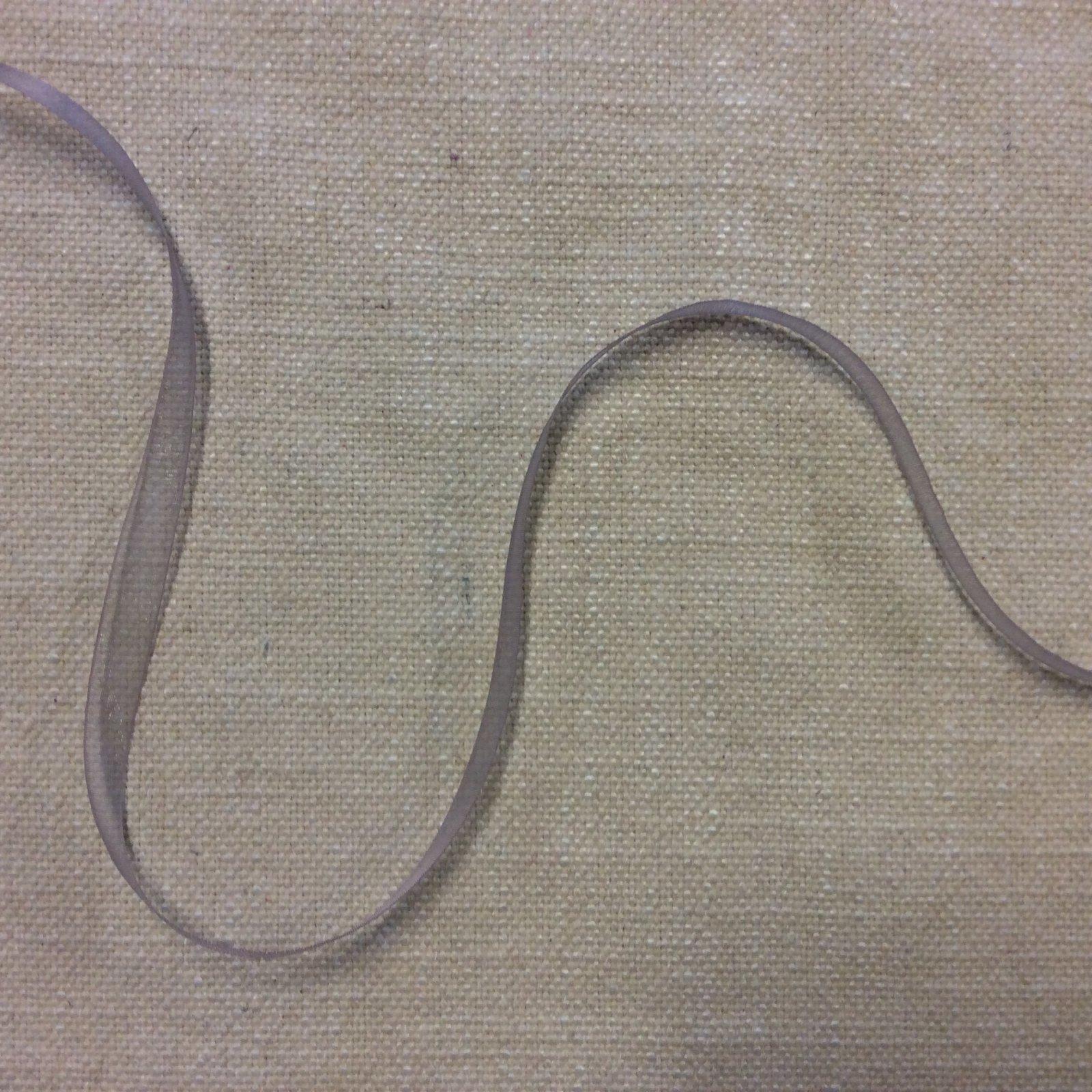 Organza Ribbon 3/8 Lightweight Soft Purple Gray Trim Ribbon RIB1212