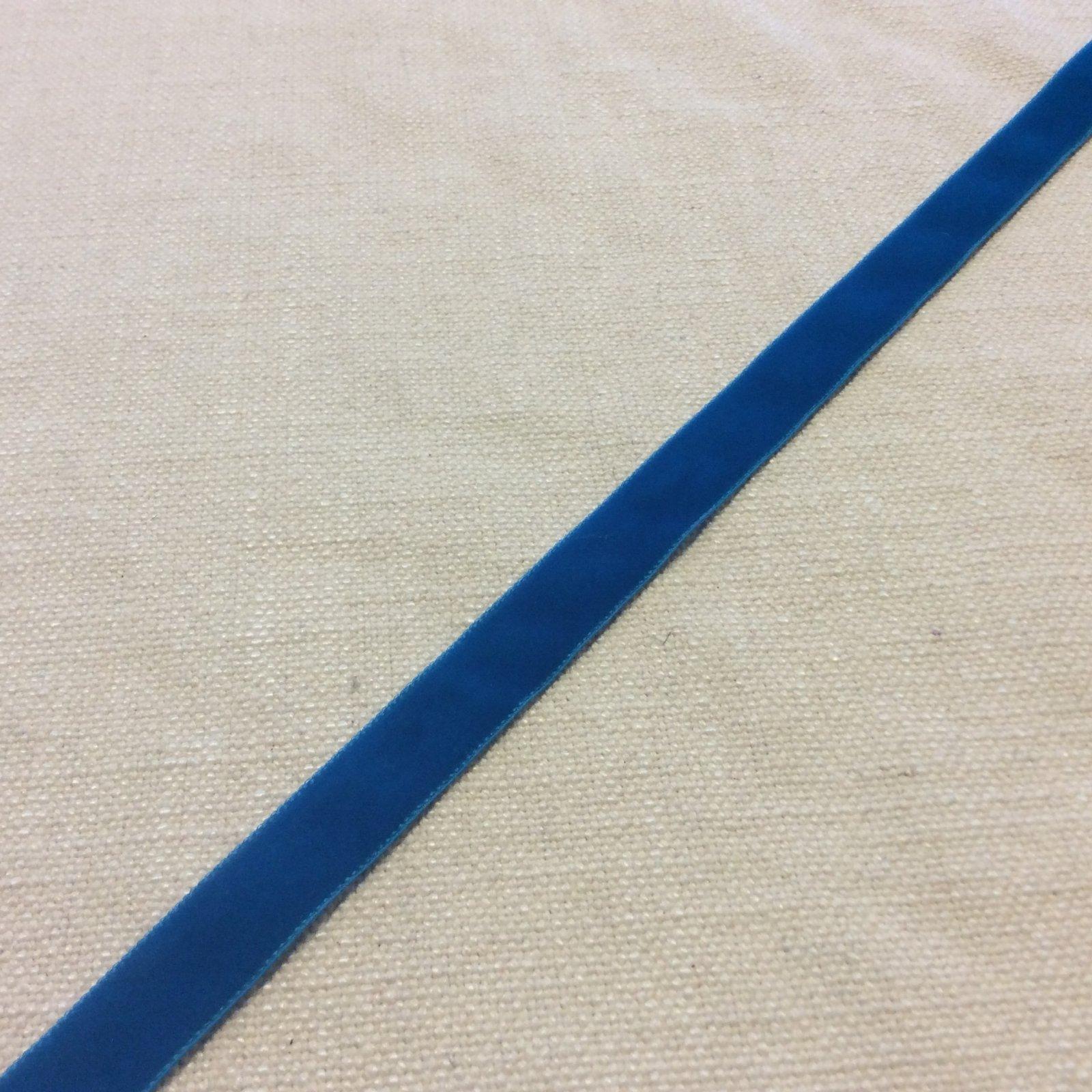 Velvet Ribbon 5/8 Turquoise Trim Ribbon RIB1231