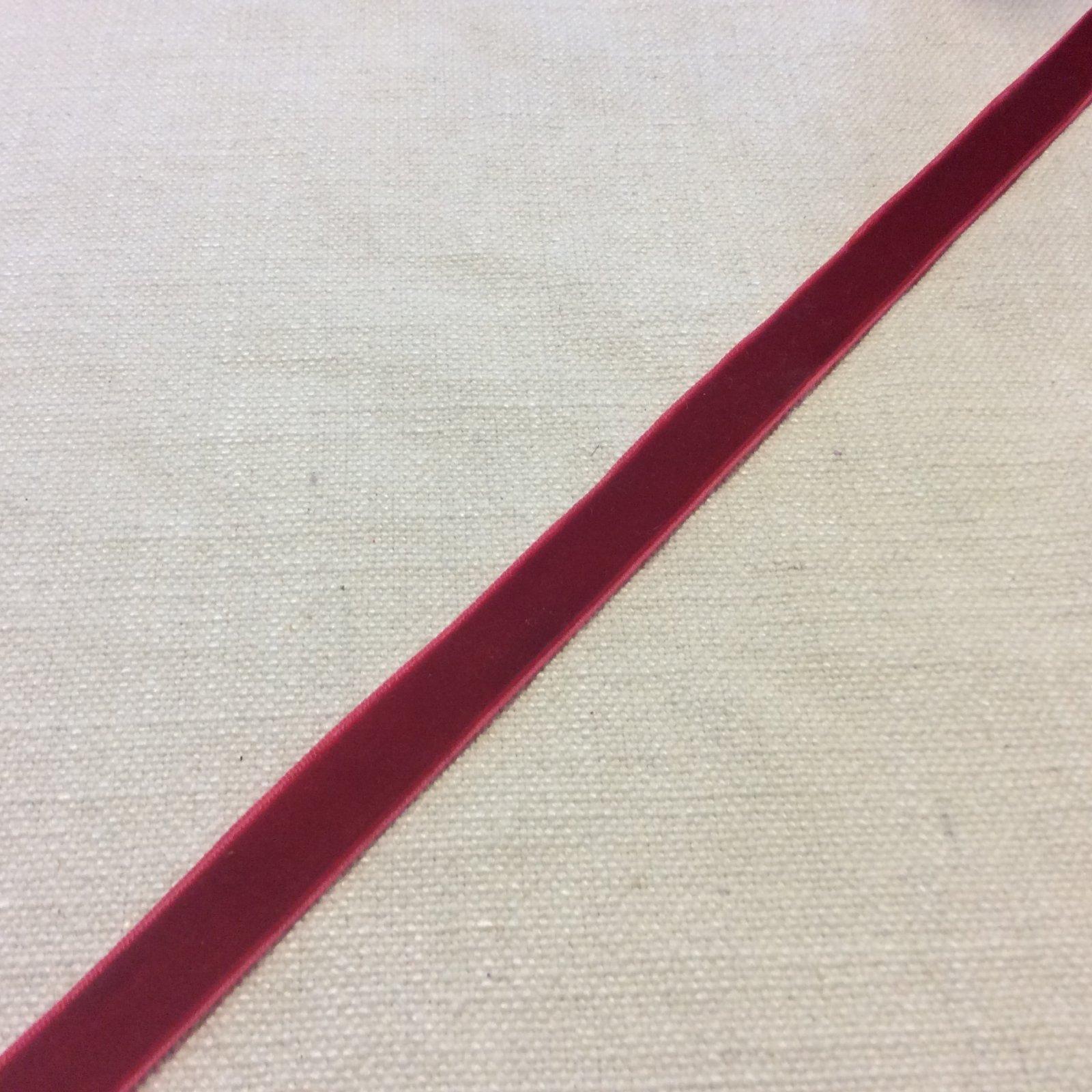 Velvet Ribbon 5/8 Red Trim Ribbon PAMA17