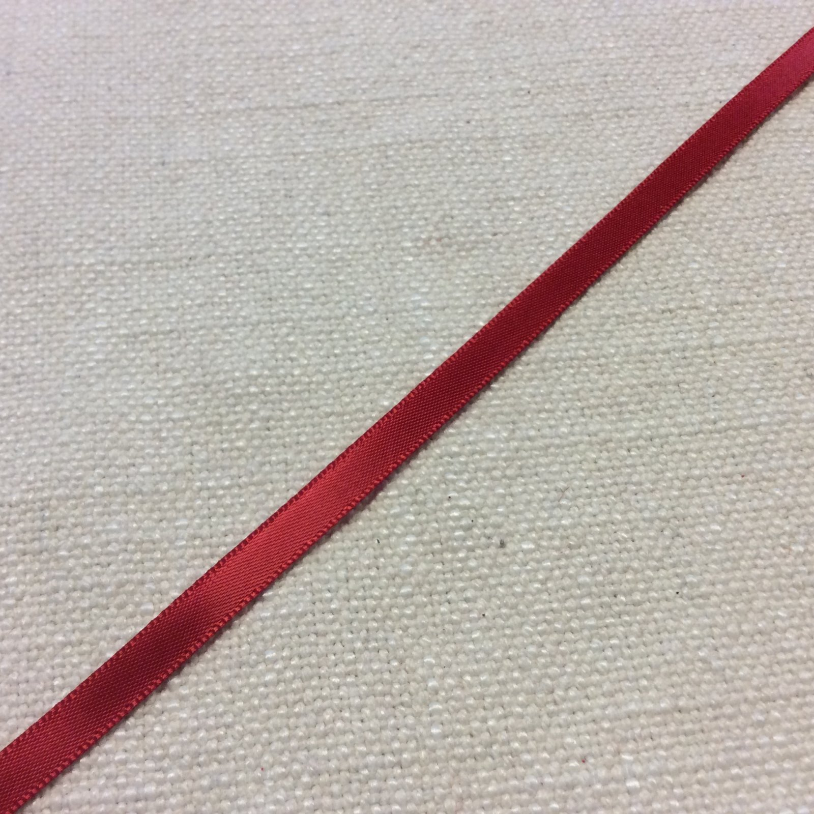 Satin Ribbon 1/4 Red Trim Ribbon RIB1264