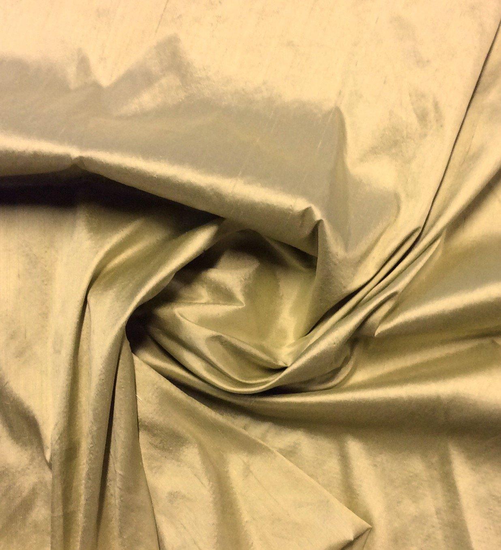 100% Dupioni Silk Light Celadon Green Color Drapery Silk Costume Apparel Sewing Fabric SMW004