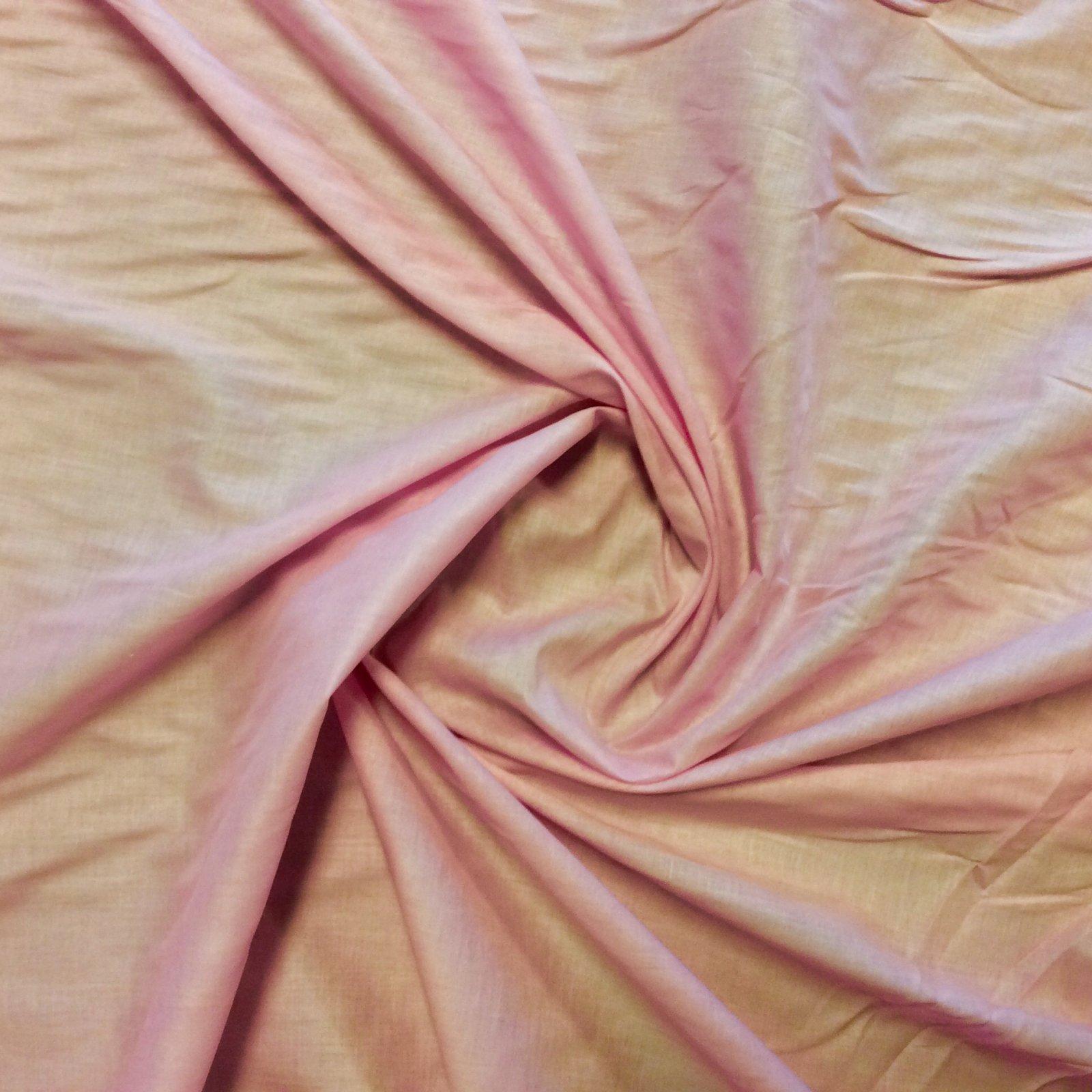 Pink Lightweight Cotton Shirting Apparel Dressmaking Fabric CC7003