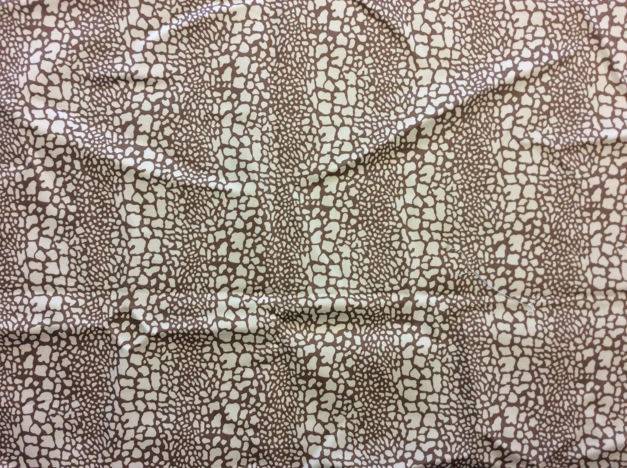 Last Piece! 1.5 Yard Piece! Vicki Payne Free Spirit Giraffe Stripe Canvas Twill Animal Print Home Decor Upholstery Fabric REM019