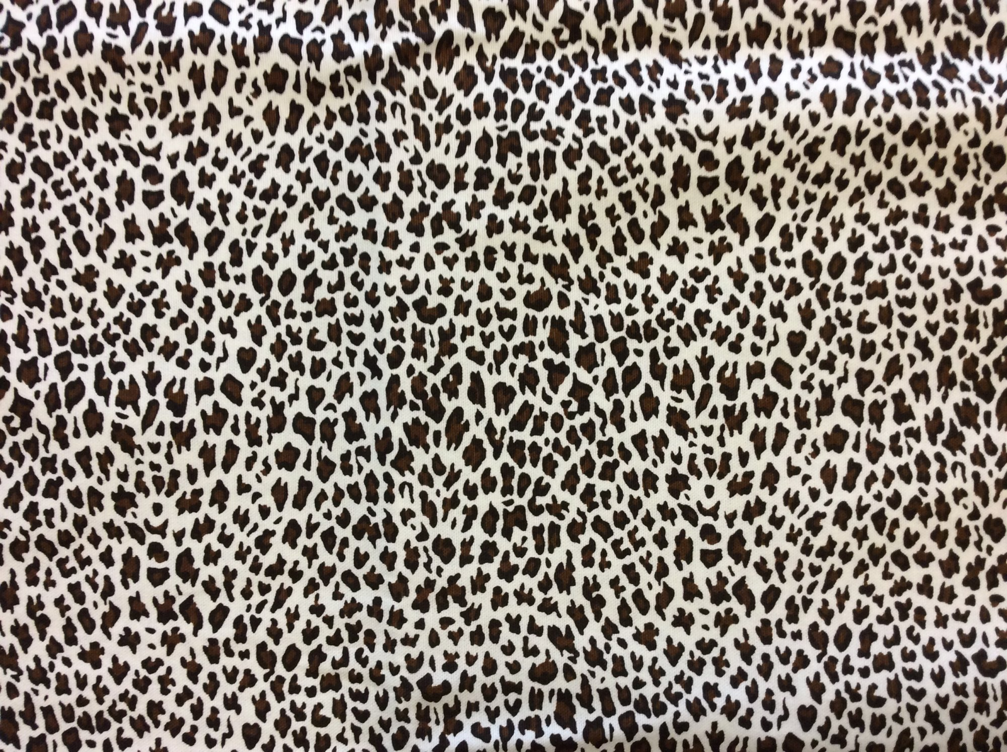 Cotton Canvas Small Scale Cheetah Animal Home Decor Upholstery Drapery Apparel Fabric REM020