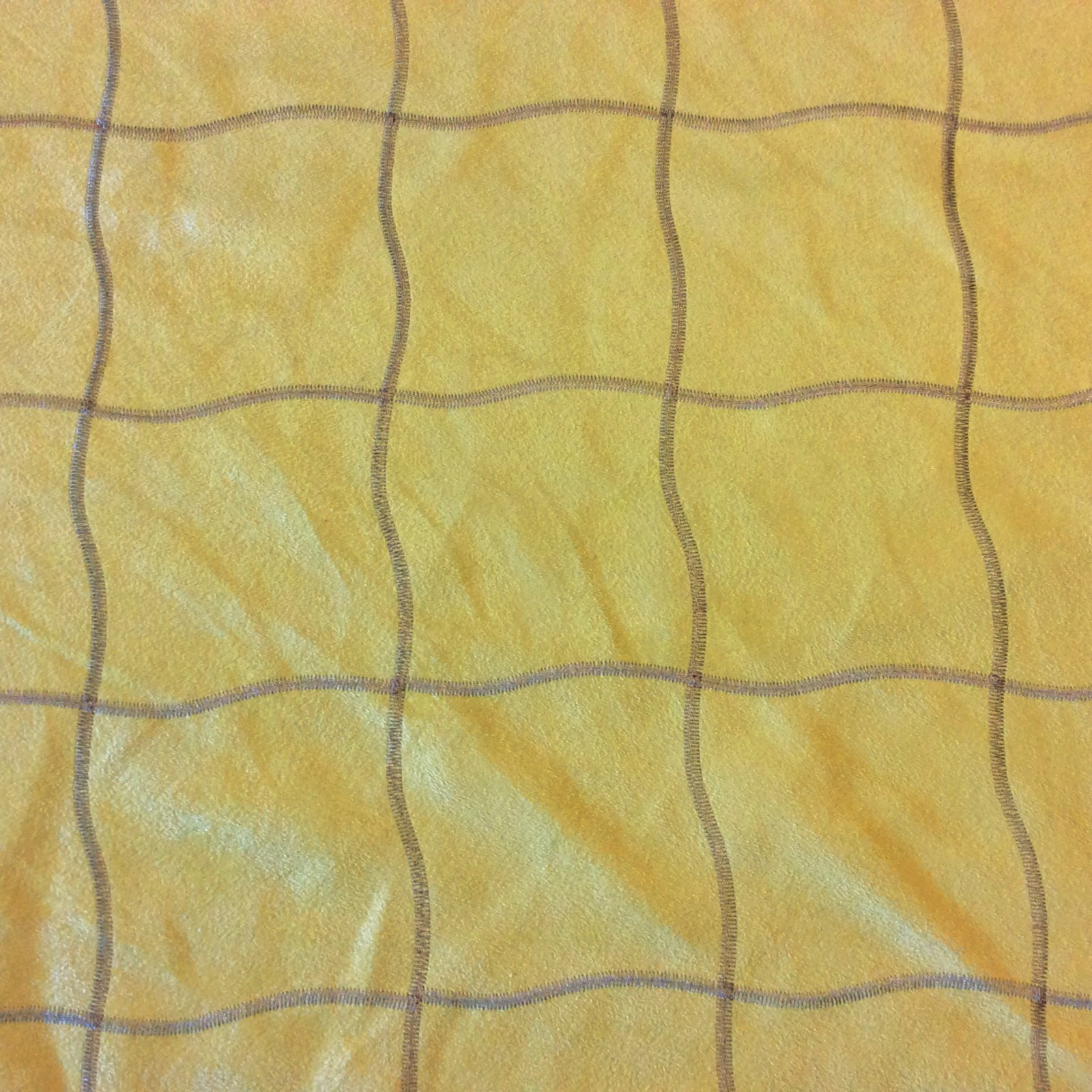 LHD313 Chartreuse Ultrasuede Suede Geo Embroidered Upholstery Home Decor Fabric