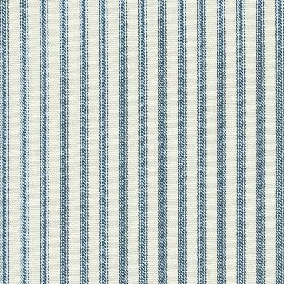 Ticking Country Traditional Colonial French Provincial Print Heavy Weight Cotton Fabric Drapery Fabric Upholstery Fabric Indigo Blue LHDSO522A