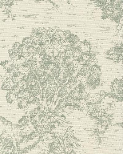 Toile Traditional Colonial French Provincial Print Heavy Weight