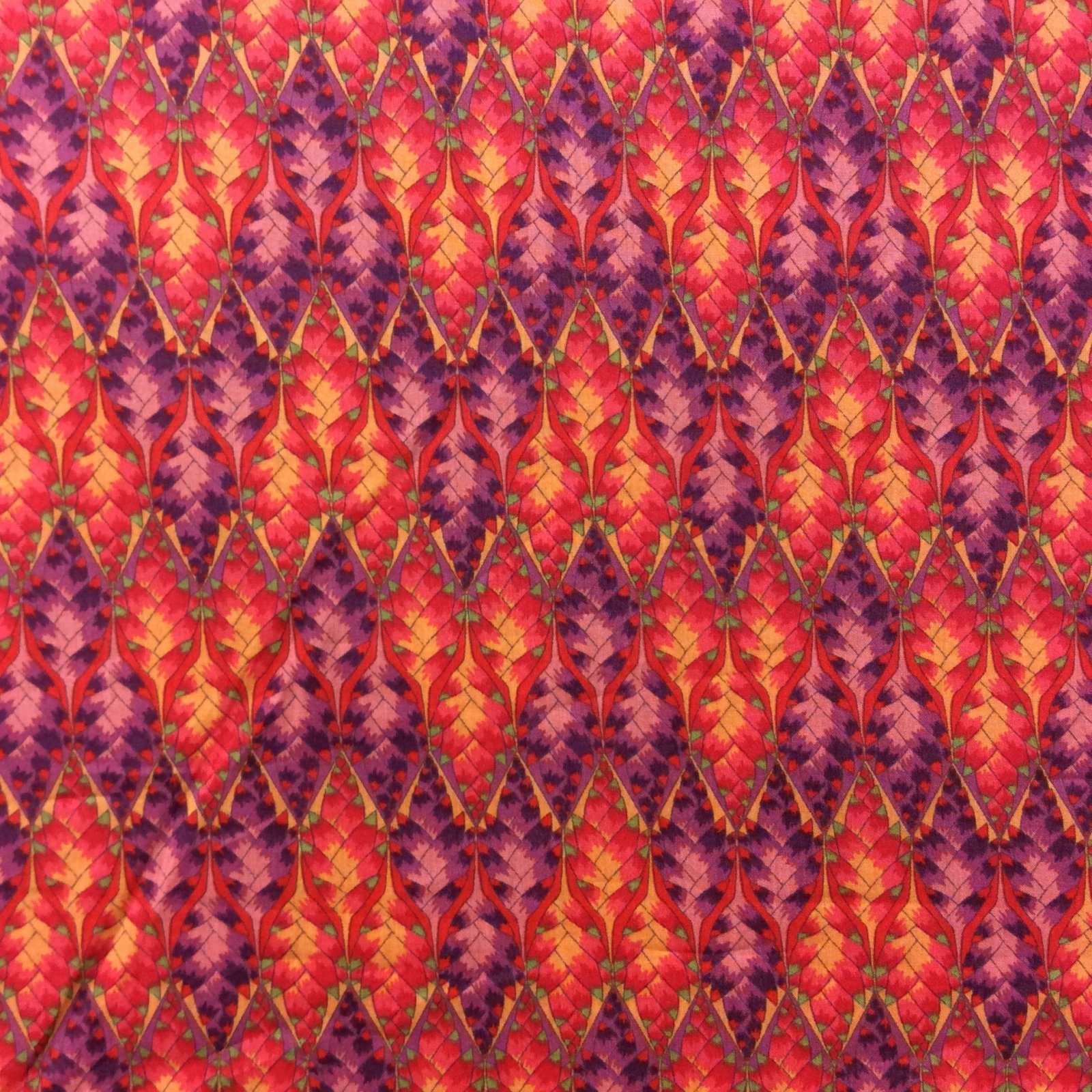 Liberty of London pink and purple Cotton Apparel Lawn Fabric Fashion Fabric LL01