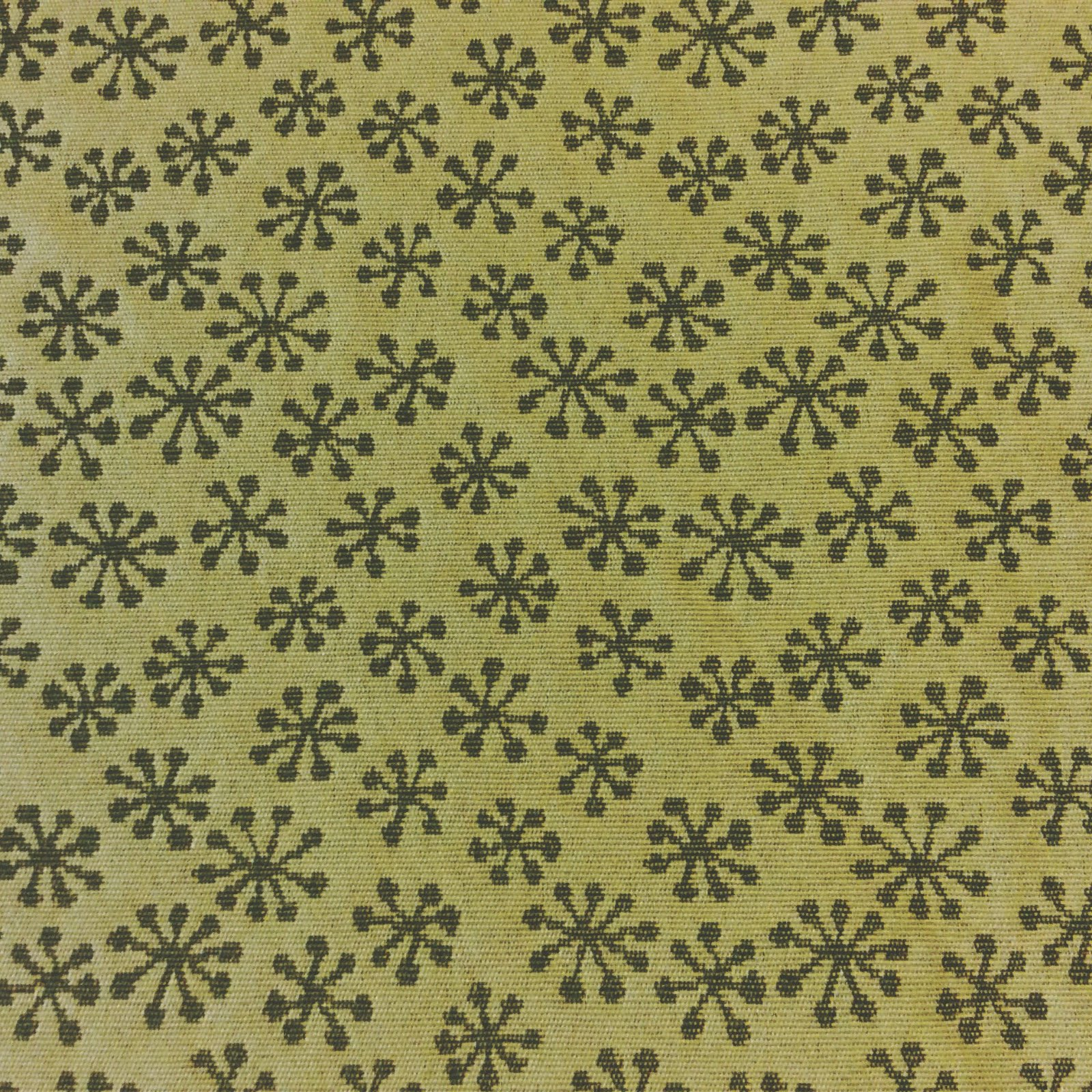 Maharam Sputnik Modern Retro Heavy Weight Cotton Poly Reversible Fabric WB11
