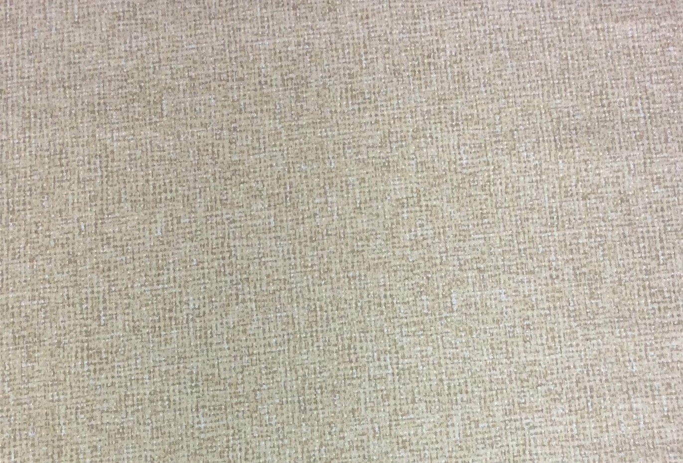 Metallic Crosshatch Gold Cream Check Blender Cotton Quilt Fabric MD207