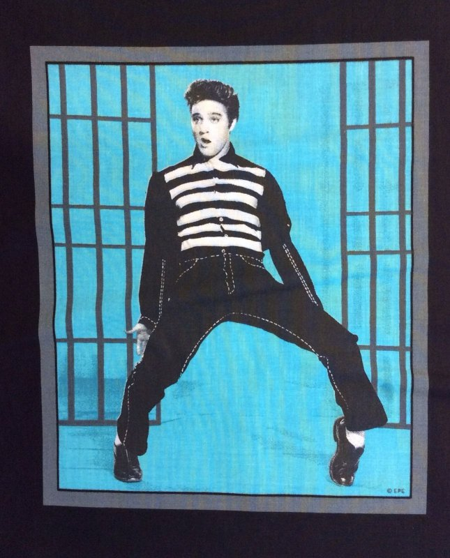PNL108 Elvis Jailhouse Rock Warhol Style Colorful Panel Cotton Fabric Quilt Fabric MD32