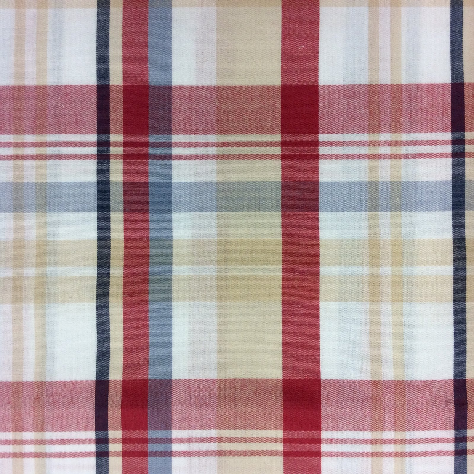 Tartan Plaid Dress Shirt Menswear Shirting Apparel Cotton Quilt Fabric MD73