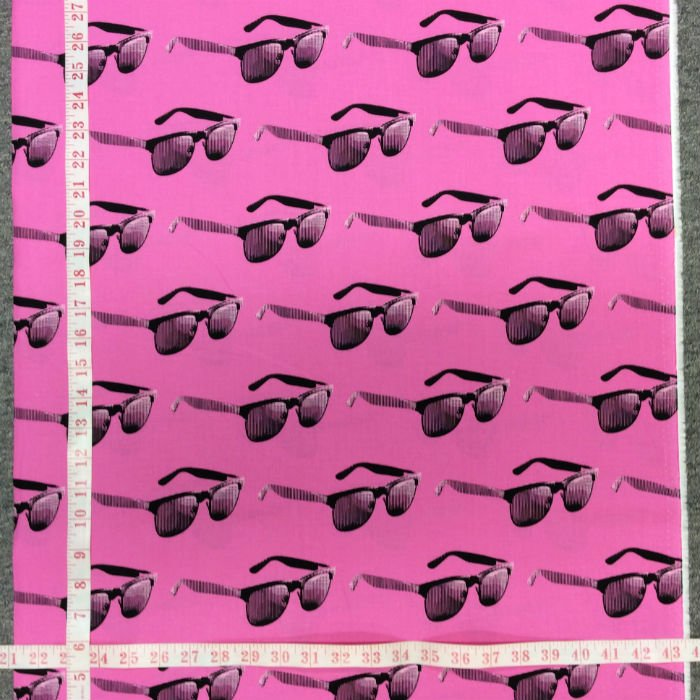 MO72 Sunglasses Shades Urban Cool Fashion Moda Retro Cotton Quilt Fabric