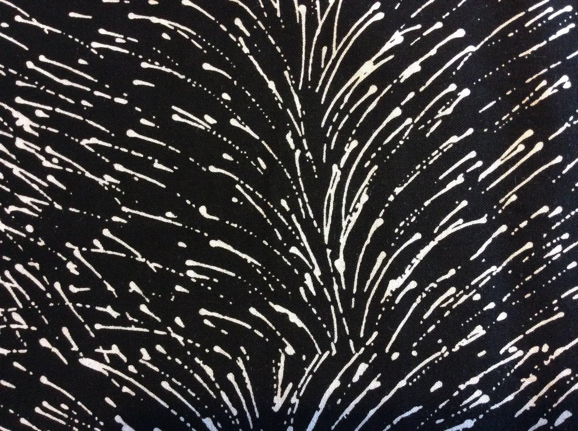 MS01 Modern Splatter Rain Drop Storm Australia Aborigine Quilting Cotton Fabric