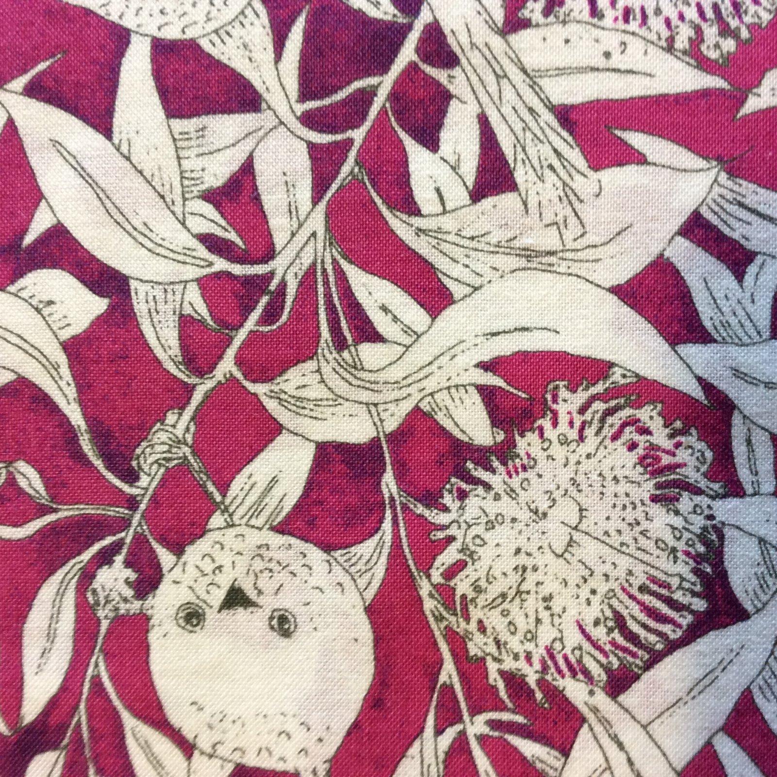 MS04 Tropical Floral Birds Australia Leaves Aborigine Quilting Cotton Fabric
