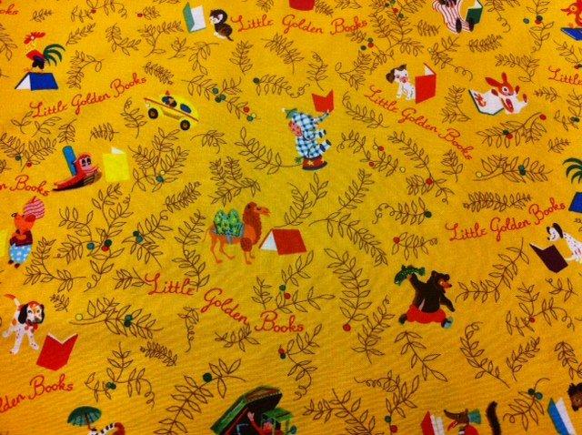 Little Golden Books Characters Elephant Fox Kitten Duck Truck Cotton Fabric Quilt Fabric R155