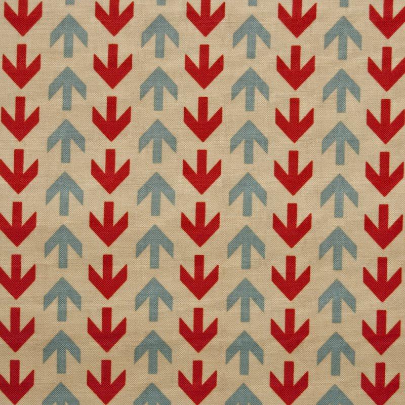 RB42 Mod Retro Arrows Symbols Directions Detour Quilting Cotton Quilt Fabric