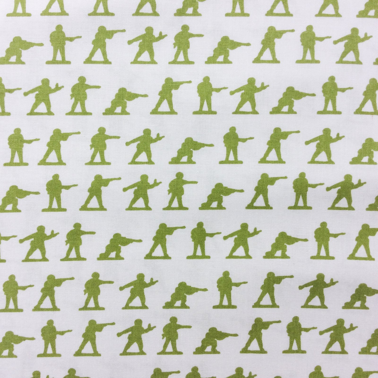 RB59 Tiny Toy Soldiers Retro Quilt Cotton Quilting Fabric