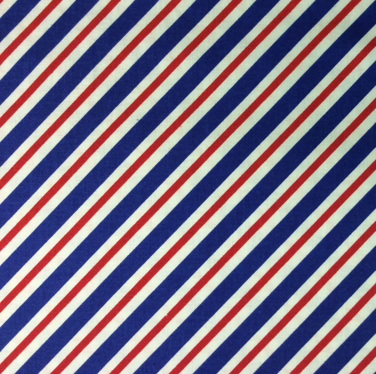RB60 Postal Stripe Red White Blue Patriotic America USA Quilting ...
