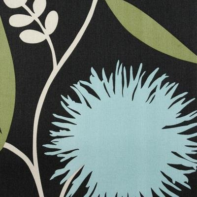 Thomas Paul Dahlia Slate Colorway Large Scale Scandinavian Modern Floral ** FIVE YARD PIECE ** REM509
