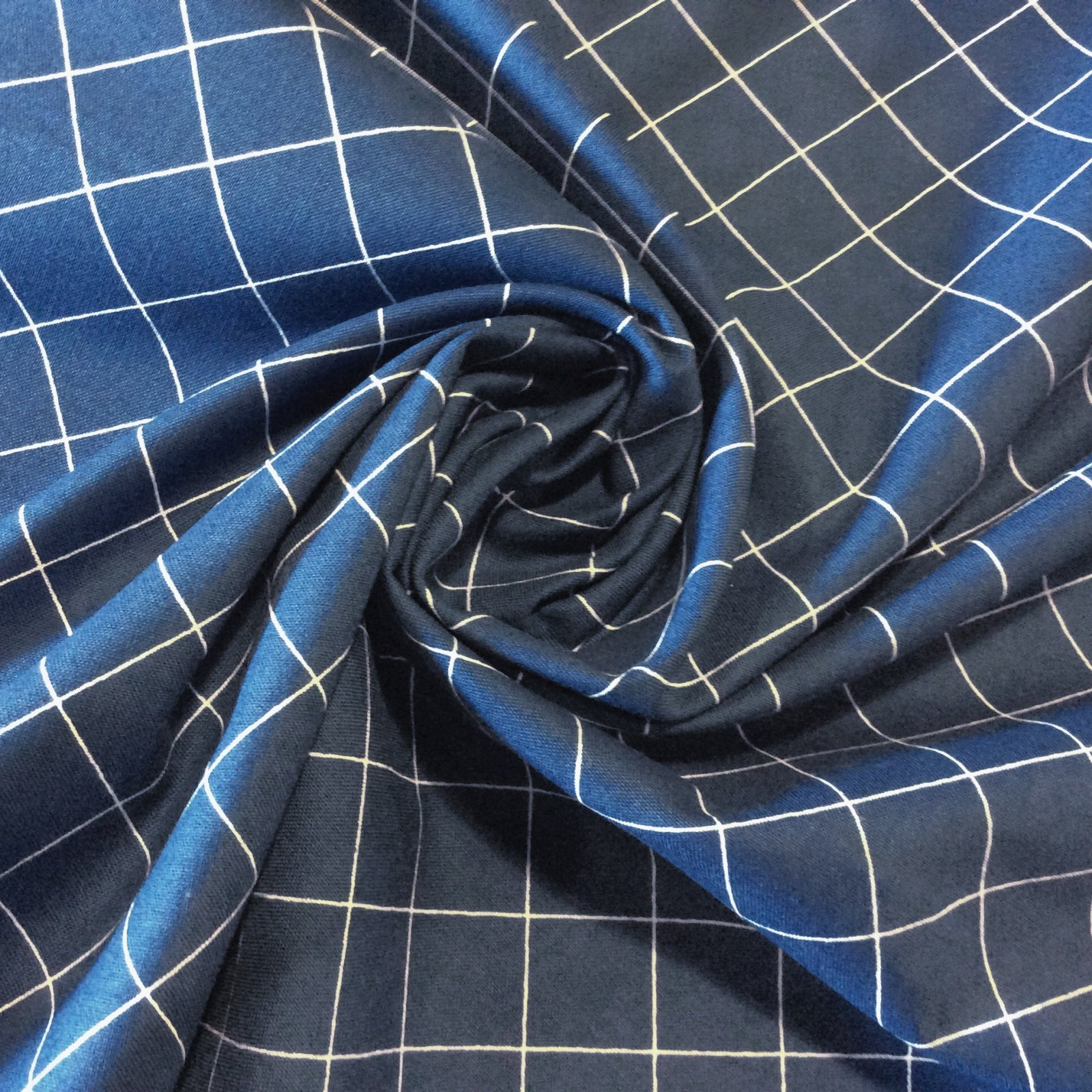 Modern Lattice Diamond Doe Collection Geo Apparel Sewing Cotton Fabric RK140