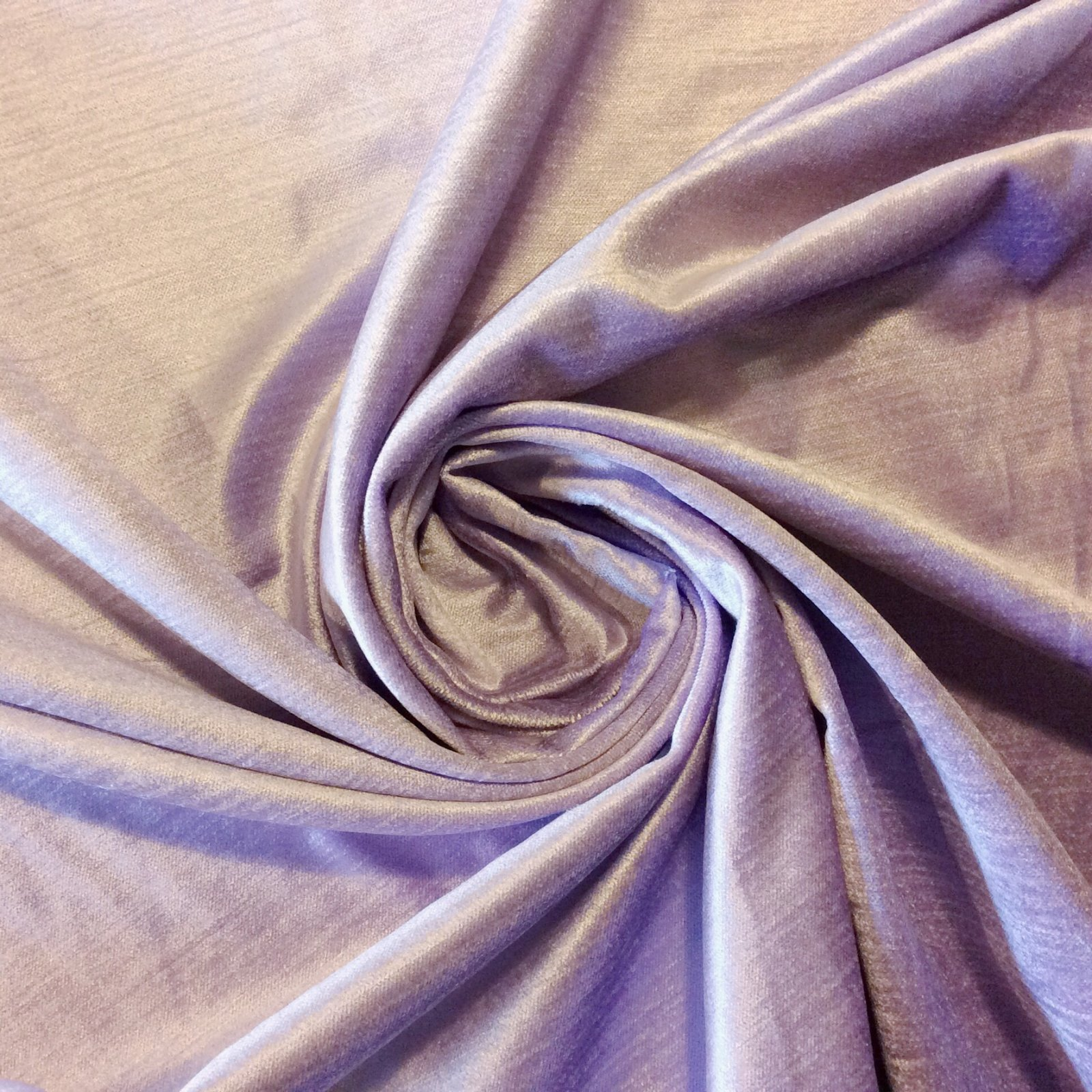 Rx005 Luxurious Solid Velvet Lavender By The Yard Upholstery Home