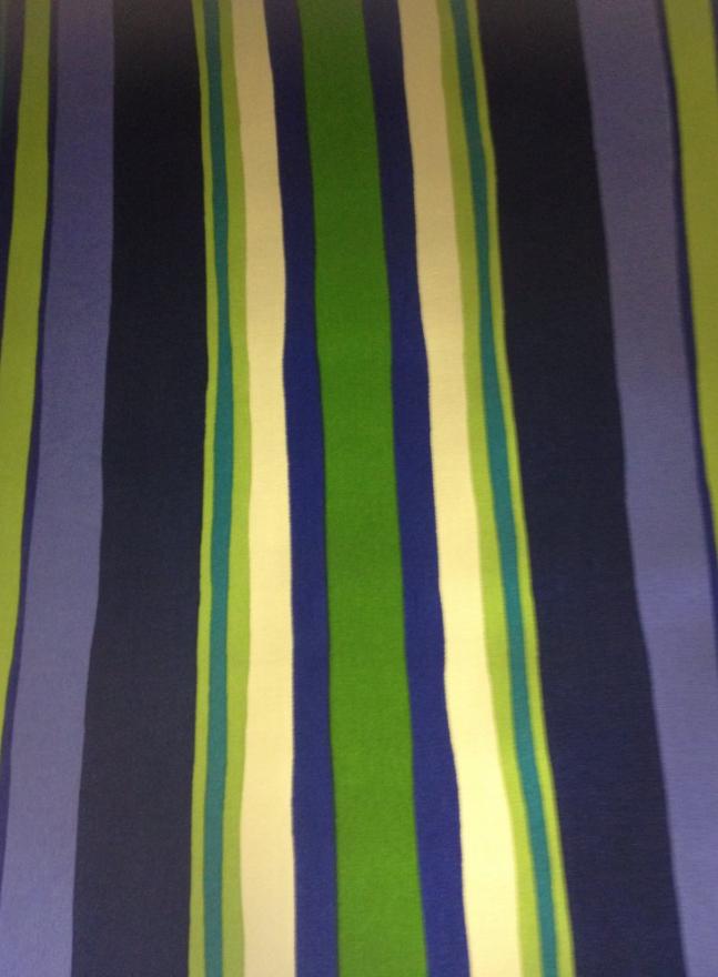 Stripe Robert Allen Tropical Wavy Stripe Printed Acrylic Outdoor Fabric S322