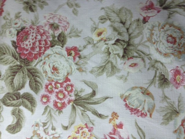 floral english garden cottage rose famous maker outdoor fabric s576 rh loomshowroom com country cottage rose fabric black cottage rose fabric