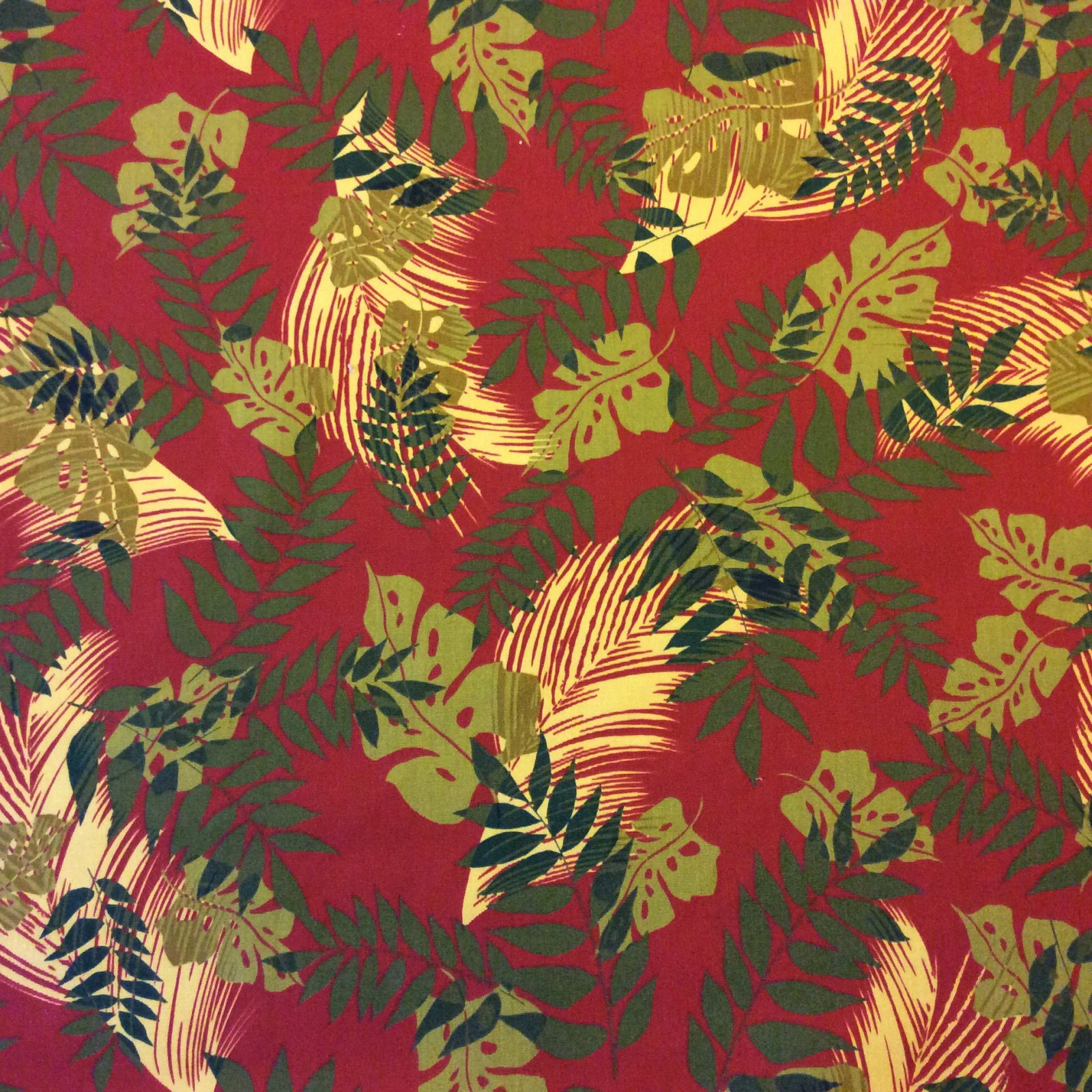 Palm Leaves Banana Leaf Neutral Tones Tropical Leaves Plants Wildlife Nature Outdoor fabric Famous Maker S94