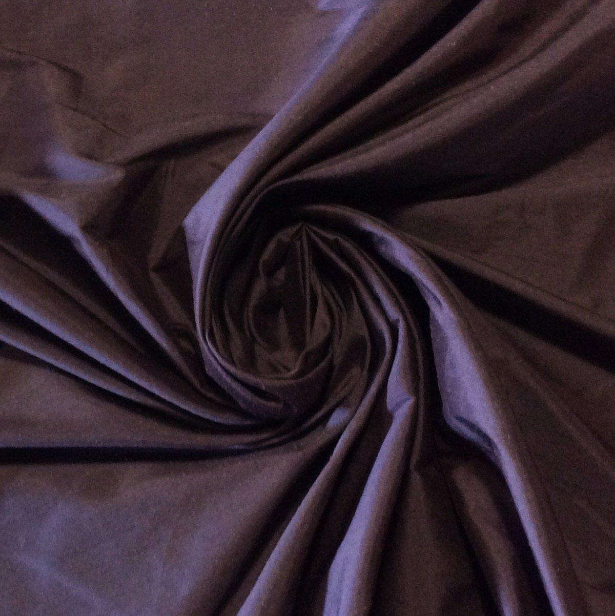 SMW02 Eggplant Exotic Machine Woven Dupioni 100% Silk Fabric Drapery Fabric BTY