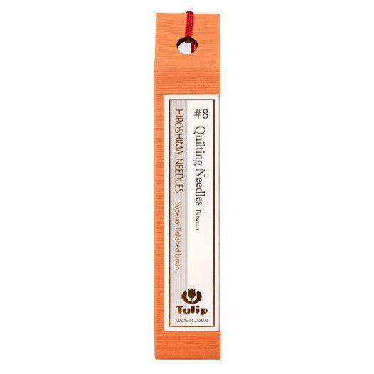 Hiroshima Tulip Japan Quilting Needles Size 8 Vial of 6 Needles THN003